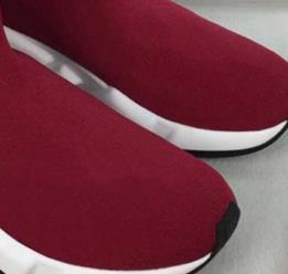 entrenador diseñador-ed negro Tan velocidad hombres mediados de entrenador superior calcetín zapatillas de deporte zapatos casuales zapatos de los corredores