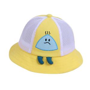 SAGACE Enfants de protection Chapeau mignon respirant Sunhat été tout-petits extérieur Seau Protection Anti-UV Fishmen Hat