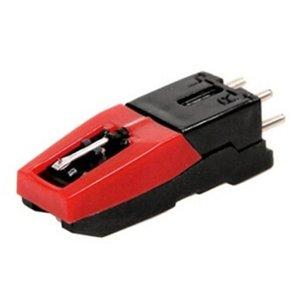 Turntable Phono cartouche avec stylet de rechange noir rouge pour vinyle phonographes économique durable périphérique