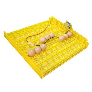 63 яйцо Инкубатор Turn лоток Куры Утки и другая домашняя птица Инкубатор автоматически повернет Яйца птицы инкубационного оборудование