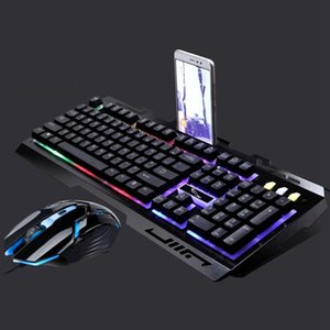 Chasing Leopard G700 USB Backlight Wired Optical Gaming Mouse And Keyboard Set, Keyb Length: 1.35 m, Mouse Cable Length: 1.3 m