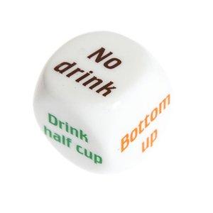 1 Par beber vino Mora inglés dados juegos de juego adulto del sexo de los amantes del juego partido de la barra de bebida bar Decididor juguete de la diversión