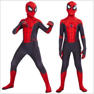 Spider-Man Cosplay Kostüm Kinder Spiderman Superheld Body Anzug Overalls Kinder Onesies Jungen Cosplay Einzelhandel