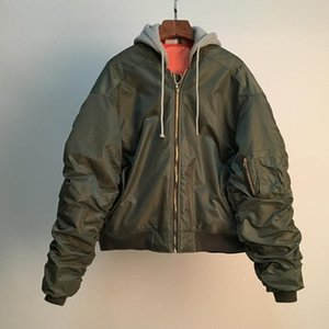 Vetements Bomberjacke Simon Hip Hop Skateboard Windjacke Kanye Mode Pilot Laufsteg Motor Veste Mäntel Jacken luxury887d #