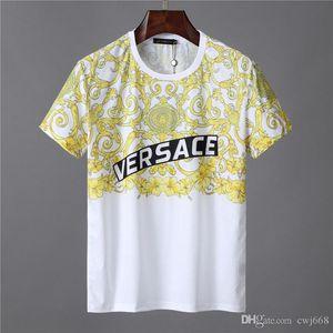 2019 High-End-Herren-Designer-T-Shirts Herren-Damen Hip-Hop-T-Shirt mit 3D-Druck Rottweiler Design Shirt M 3XL 668
