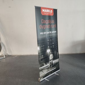 80x200cm New Arrival Portable Retractable Aluminum Roll up Banner Stand for Advertising Trade Show