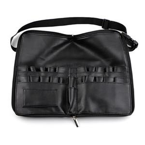 makeup artist belt strap Cosmetic Makeup Brush bag 24 pockets Tool Bag Large Capacity waist bag