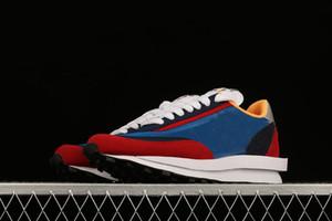 Fashion design di lusso 2020 uomini donne Waffle Racer scarpe da tennis correnti di sport scarpe per uomo Bianco LDV formatori esterni atletici dimensioni 5-12
