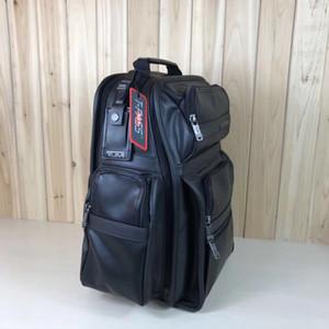 Cuoio del progettista-MRTM 963578D4 uomo Business Travel Backpack 16-inch Borsa per computer 18 anni Nuovo