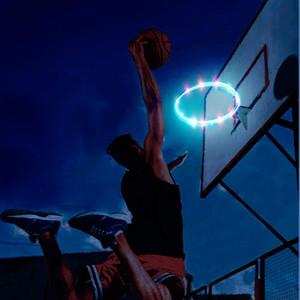 lâmpada LED cesta de basquete atacado luz ao ar livre de basquete noite solar com alta qualidade e preço barato