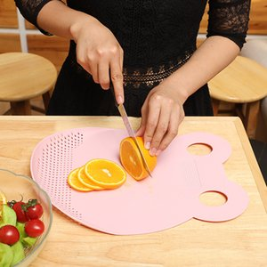 Chopping Board Plastic Thickened Large-size Chopping Board Household Food Supplement Chopping Board Antibacterial And