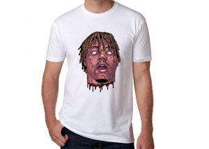 RIP JUS WRLD 999 Rest In Heaven T-shirt à manches courtes Hip Hop T-shirt Rapper Xxxtentacion Vêtements pour hommes Camisetas Hombre