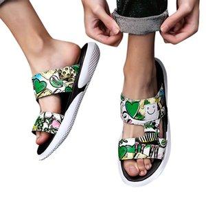Vendita calda-Perimedes Trend Pantofole personalità scarpe da uomo New Street Beach Pantofole casual estate sandali piatti uomo spiaggia