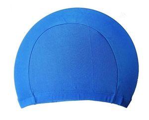Mode Hommes bonbons Couleurs de natation Caps unisexe Tissu nylon imperméable adulte douche Casquettes bonnets de bain 1000pcs / lot EEA1424-5
