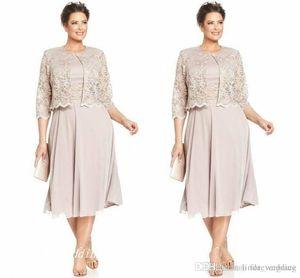 2019 신부 신랑 드레스의 우아한 어머니 고품질 쉬폰 레이스 공식 웨딩 파티 가운 플러스 사이즈 Vestido de Madrinha