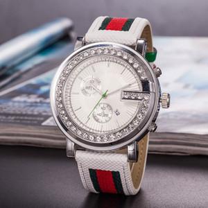 남성과 여성의 럭셔리 다이아몬드 시계 클래식 G 편지 시계 로즈 골드 컬러 시계 스테인레스 스틸 시계 무료 배송