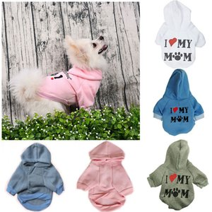 Small Pet Dog Cat Puppy Warm Sweater Jacket Hoodie Coat Pet Clothes Costume Apparel