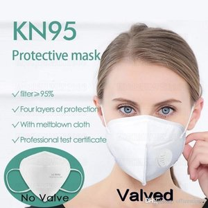 Face Masks Dust Protective Dustproof Reusable Masque mouth With Breathing Valve Air Filter Respirator Disposable Face Mask
