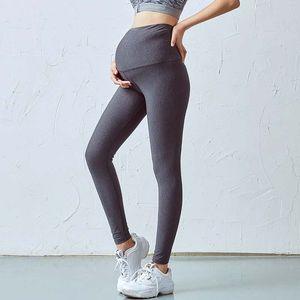 Pregnant women yoga pants pregnant women high waist women pants elastic V waist running fitness sports trousers for pregnant leggin