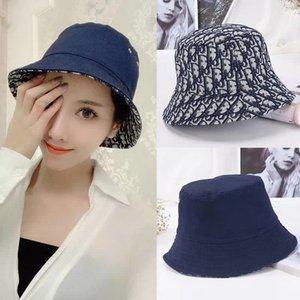 남성과 여성을위한 2020 블랙 패션 높은 품질의 디자이너 고전 물통 모자 어부의 모자 야외 여행 모자, 썬 캡 모자