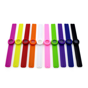 Outdoor Hiking Mosquito Repellent Band Bracelet Mosquito Killer Reusable Silicone Wristband Anti Mosquito Repeller For Child Baby VT0611