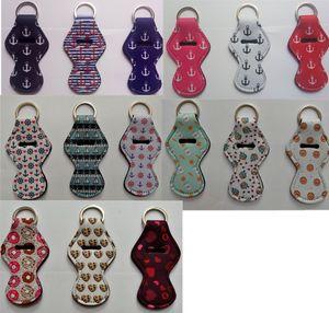 Halter New Chapstick Schlüsselbund mit Metall-175 Patterns, Anker, Liebe, Größe Klein