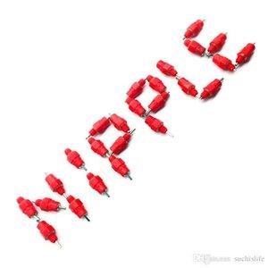 2000PCS Red capezzoli pollo waterer Pollame mangime per polli bere piccione uccello Nutrire Butt sfera tettarelle rosso per i polli