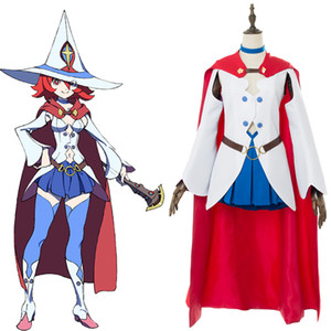 Little Witch Academia Cospaly Costume Shiny Chariot Outfit Adult Full Sets Halloween Carnival Cosplay Costumes Tailor Made