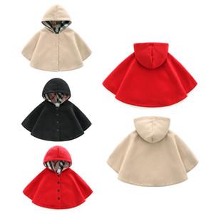 haute qualité New Born Baby Filles Manteaux Vêtements Veste pour enfants pour 0-24M Printemps Automne Outwear Cape d'hiver Filles Poncho B262