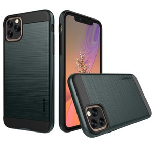Verus Hybrid Dual Layer Brushed Case For iPhone 11 Pro Max XS Max XR XS X 8 Plus 7 6 6S Plus 5SE