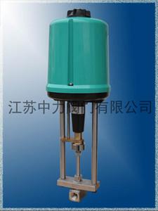 High voltage electric needle valve