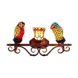 Engraçados parede Arte Luzes LED Strip Quarto Lava Lamp Room Decor Wall Lamp Ups frete grátis Vidro Luz Luxurious Big Bird Wall Lamp