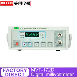 1mv-10V 400V digital display high-frequency millivolt meter Frequency test can auto-range MVT-172D HFJ-8AD