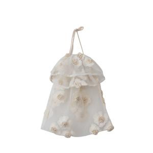 الرباط حقائب CROSSBODY مصمم زهرة صغيرة بيغيني حزب الطباعة الدانتيل حقيبة الزفاف الزهور حقيبة حمل النساء جودة عالية الفاخرة أكياس