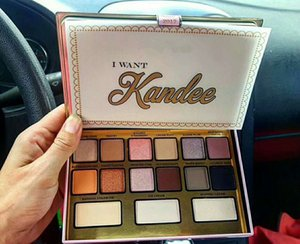 Dropshipping Hot Brand I Want Kandee Eyeshadow Palatte I Want Kandee Limited Edition CANDY EYESHADOW PALETTE 15 Colors Eyeshadow Palatte