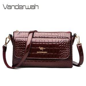 Women Bag 2020 Soft Leather Luxury Handbags Women Bags Designer Ladies Shoulder Crossbody Bag Multi-pocket Hand Bags Sac A Main