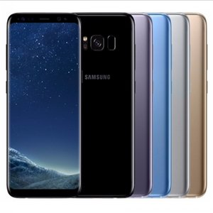 5 adet S8 + Yenilenmiş Orijinal Samsung Galaxy S8 + S8 Artı G955F G955U 4G 6.2 inç Sekiz Çekirdekli 4 GB RAM 64 GB ROM 12MP 3500 mAh Akıllı Telefon