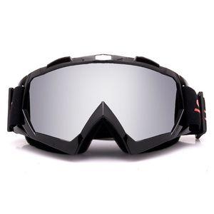 Motociclismo Motocross Gafas Off-Road de la bici ATV de Google snowboard del esquí de los vidrios por mujeres de los hombres de la lente de colores