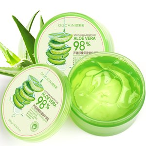 Profession 300g Natural aloe vera Smooth Gel Acne Treatment Face Cream for Hydrating Moist Repair After Sun