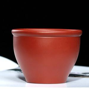 Mud feitas à mão roxo Tea Cup Red argila roxa pequena Tea bacia Kungfu Teacup Para Teaware Copos Home Decor