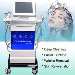 Hydro dermabrasion Eau Rajeunissement de la peau anti-âge diamant Hydro visage microdermabrasion Hydro Peeling équipement de salon machine Spa