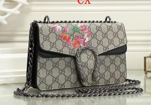Borsa donne di modo famoso di marca del progettista del sacchetto della nappa SOHO sacchetti delle signore della nappa Litchi Profilo Donne Messenger Bag 308.364