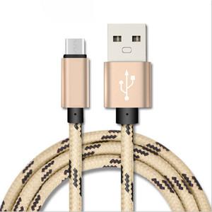 Stocks de fábrica Micro USB cabo de telefone celular cabo Tipo C 1M 2M 3M 3FT 6FT 10FT para cabo do carregador samsung