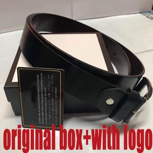 Belt Cintos Designer Mens Belts Designer Belt Cobra Luxo Belt Cintos de couro do negócio Womens Big fivela de ouro com Box N548543