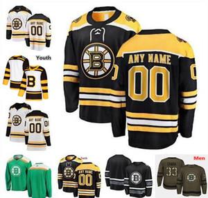 Personalizzato 2019 inverno Classic Boston Bruins uomo donna giovane Jersey Ryan Donato Jaroslav Halak Torey Krug David Backes Grzelcyk Wagner Kuraly
