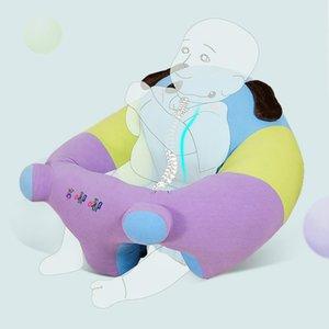Детское сиденье ребенок учится сидеть маленький диван стул ребенок анти-скользящее сиденье 6 месяцев обучения практика сидения артефакт