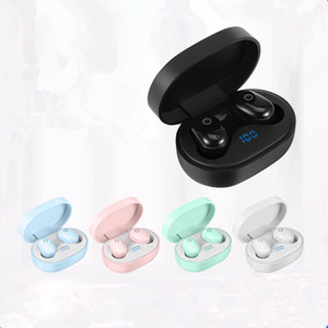 Yeni DT-8 Dokunmatik Bluetooth Kulaklık Binaural İngilizce Trans TWS5.0 Özel Güç Ekran Kulaklık dhl ücretsiz