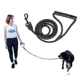 Isafecare Dog Collars & Leashes Dog supplies Reflective 2.5m*120cm rope dog leash dogs chain High Quality Walking and Training hot sell 0106