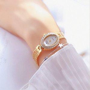 Нержавеющая женщина Сестра Дизайн Женщина Платье Femme Сталь Квадрат Наручные Часы Gold BS Bee Часы 2020 Часы Montre Mieox