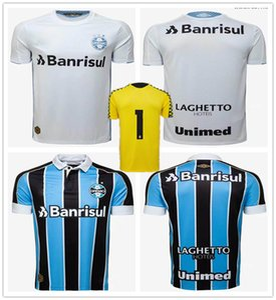 2019 2020 Gremio home GEROMEL EVERTON Best Soccer Jerseys 20 20 Gremio حارس مرمى أصفر KANNEMANN LUAN قميص